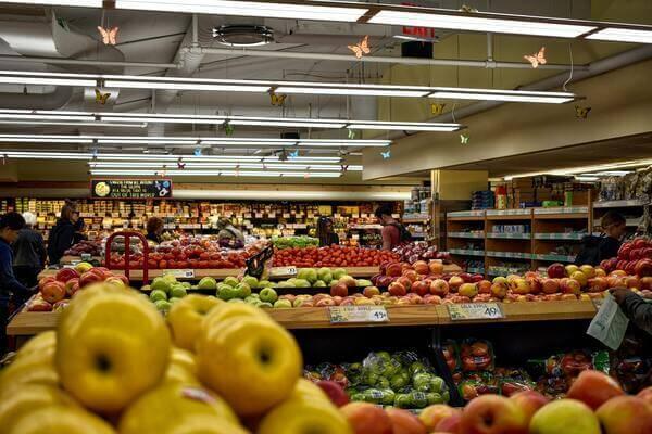 文脈効果はスーパーで使われている