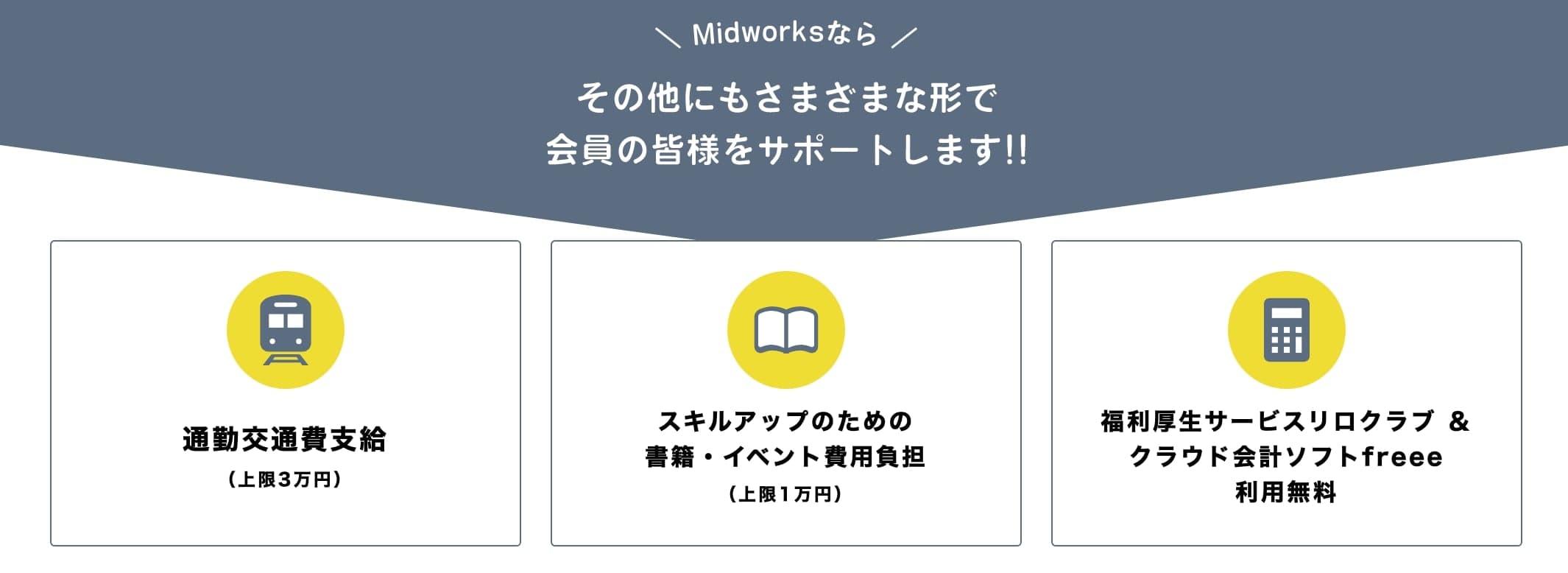Midworks(ミッドワークス)のメリットと評判・口コミ